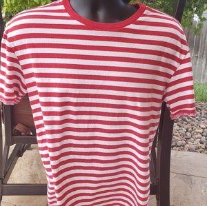 Pacsun Amra Stripes Basic Short Sleeve T